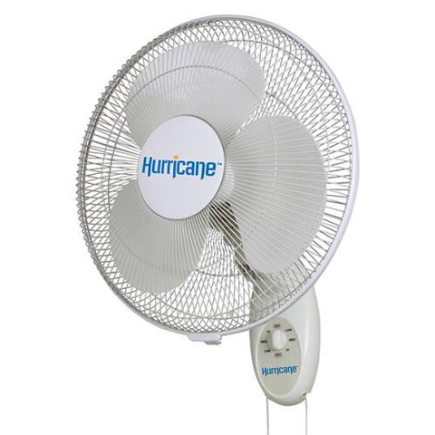 "Hurricane 16"" Supreme Oscillating Wall Mount Fan"