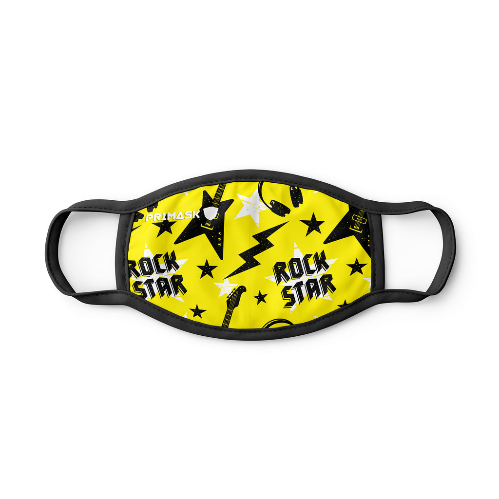 PR2 Mask KIDS ROCKSTAR (Made in Italy)