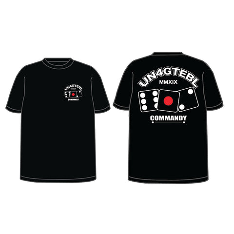 Commandy - UN4GTEBL 612 Black Tee