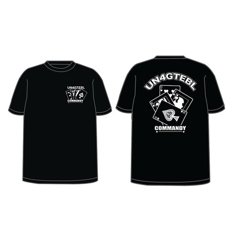 Commandy - UN4GTEBL 721 Black Tee