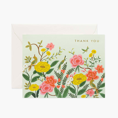Rifle Paper - Boxed set : Shanghai Garden Thank you 套裝感謝卡