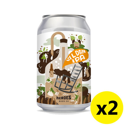 Heroes Beer - SI L DAN IPA 330ml 2罐裝