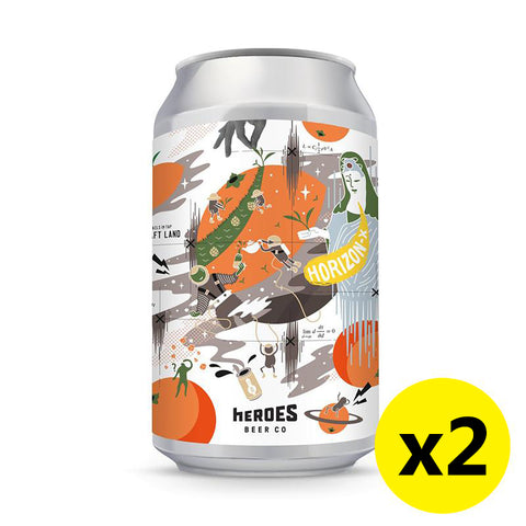 Heroes Beer - Horizon-X 330ml 2罐裝