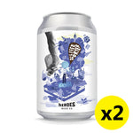 Heroes Beer - HUNK SIR 330ml 2罐裝