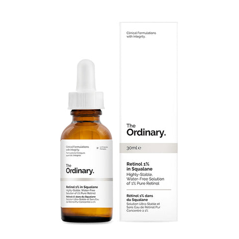 The Ordinary - Retinol 1% in Squalane 視黃醇抗老精華液 30ml - 平行進口