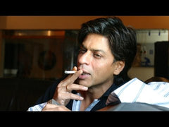Shahrukh khan smoking cigarette