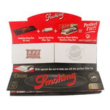Smoking Deluxe Ultrafine Kingsize Slim With Tips