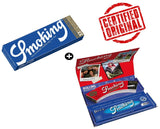 Smoking King Size Blue Luxury Rolling Kit