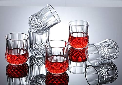 Carving Shot Glass (Set of 6)