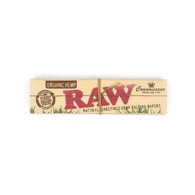 RAW Connoisseur Organic Hemp King Size