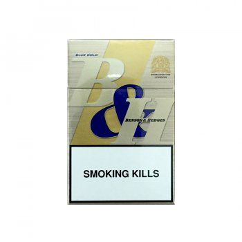 B&H Blue Gold Benson & Hedges