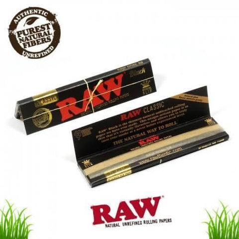 Raw Black Sheet King Size
