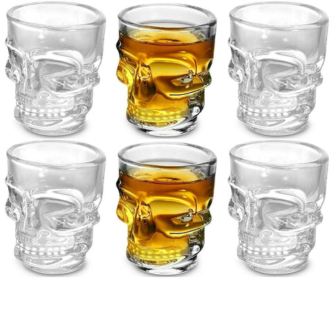 Skull Face Shot Glass (Set of 6)