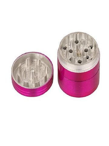 Metallic Herb Crusher Magenta Color Small Size