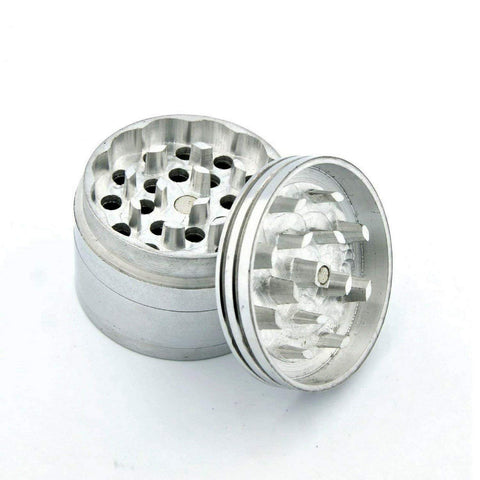 Metallic Silver medium size crusher