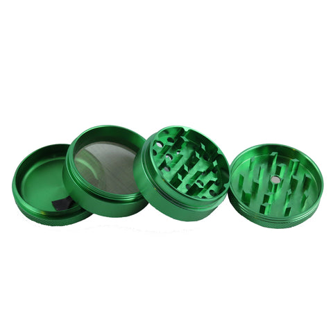 Metallic Herb Crusher Green Color Small Size