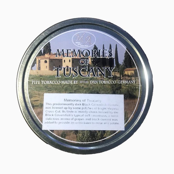 Memories of Tuscany Pipe Tobacco 50Gms