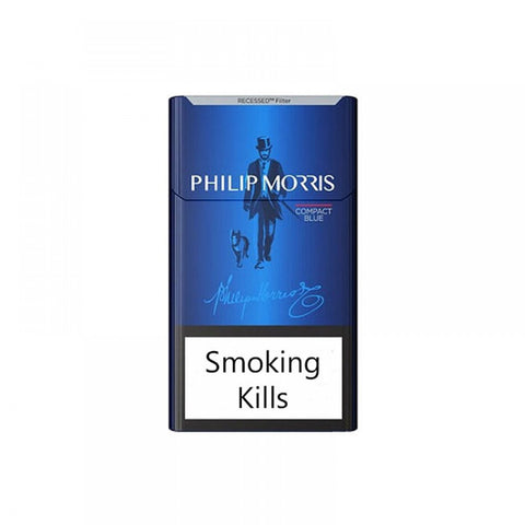 Philip Morris Blue cigarette