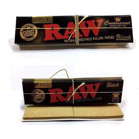 Raw Black Connoisseur King Size