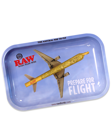 RAW Flight Metal Rolling Tray