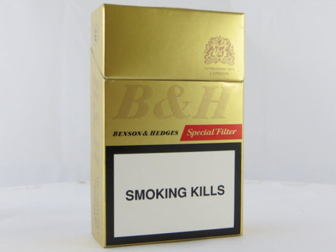Benson & Hedges Regular Special Filter