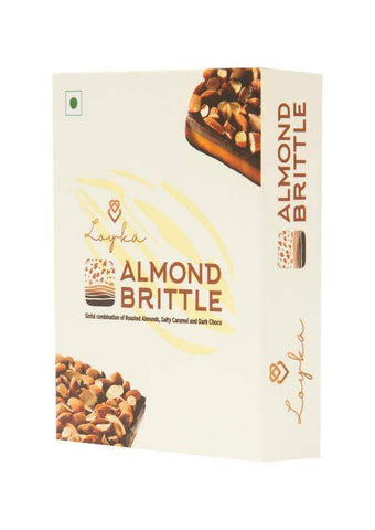 Loyka Almond Brittle Small Box 50gm