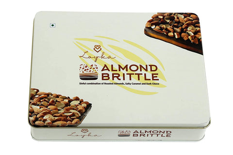 Loyka Almond Brittle Royal Tin Box