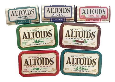 Altoids Mints All Flavours
