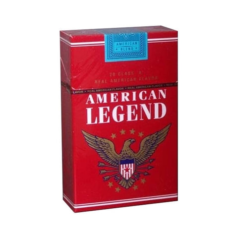 American legend Cigarette box