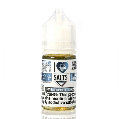 Blue Raspberry ICE - I Love Salts - Mad Hatter Juice - 30ml
