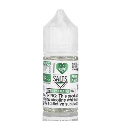 Classic Menthol - I Love Salts - Mad Hatter Juice - 30ml