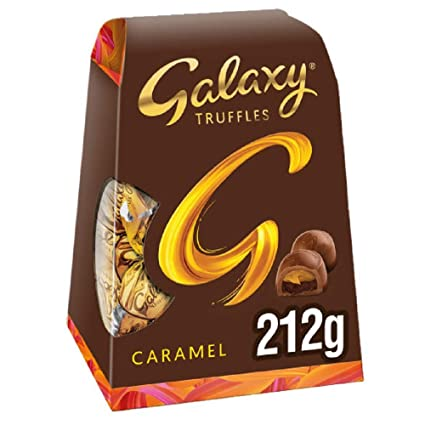 Galaxy Truffles Caramel Chocolate 212gm