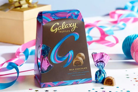 Galaxy Truffles Smooth Chocolate 206gm