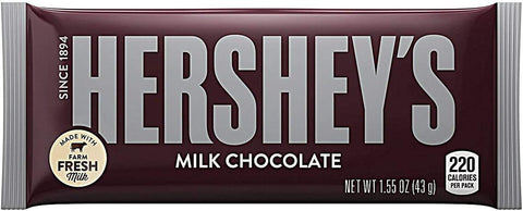 Hersheys Milk Chocolate Bar 45Gms