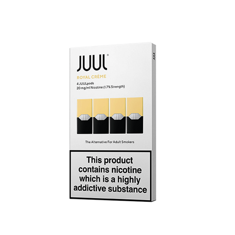 Juul Royal Creme 1.7% Pods ( Juul Creme Brulee Pods in India )