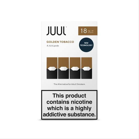 Juul Golden Tobacco 1.7% Pods