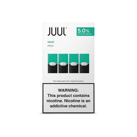 Juul Mint 5% Pod ( Juul Mint Flavour Pods in India )