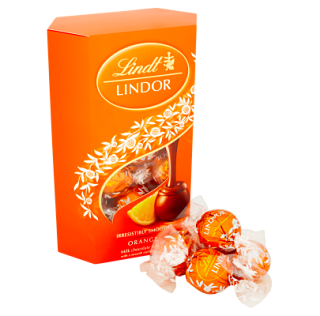Lindt Lindor Chocolate Orange Truffles