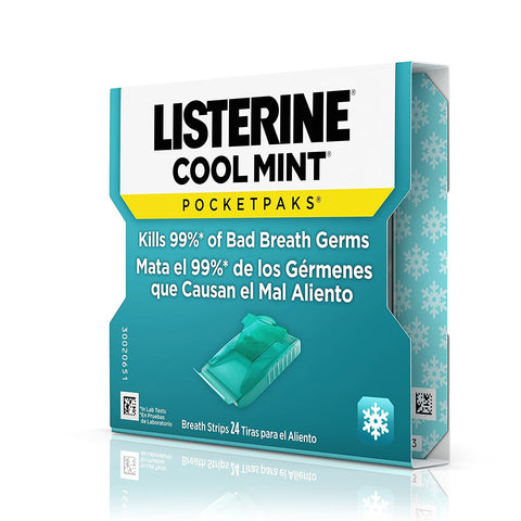 Listerine Breath Strips Pocketpaks