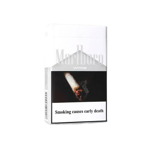 Marlboro white 1mg pack