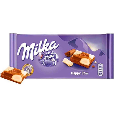 Milka Happy Cow Chocolate Bar
