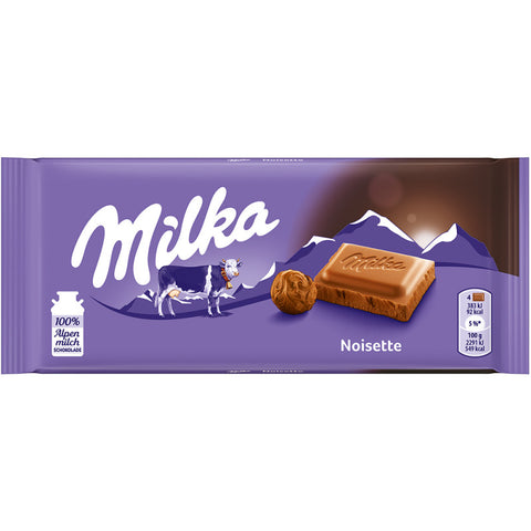 Milka Noisette Chocolate Bar