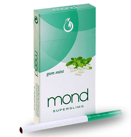 Mond gum mint superslim cigarette