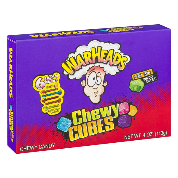 Warheads Sour Chewy Cubes Candy