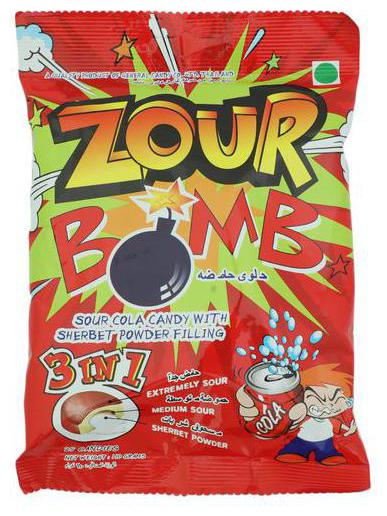 Zour Bomb Sour Cola Candy