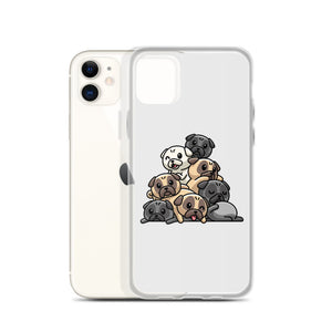 """Pug Grumble"" - iPhone Case"