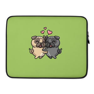 """Pug Love"" - Laptop Sleeve"