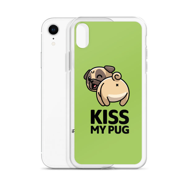 """Kiss My Pug"" - iPhone Case"