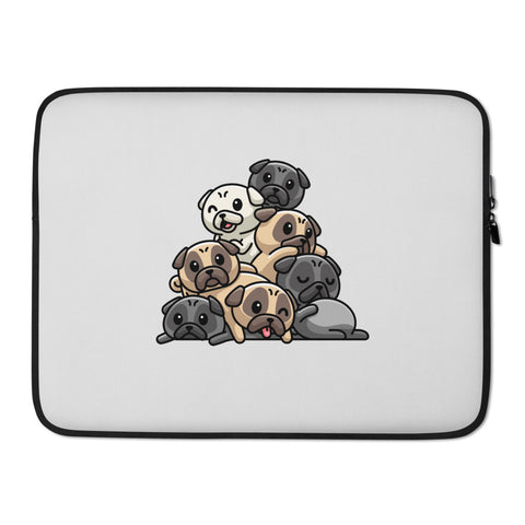 """Pug Grumble"" - Laptop Sleeve"