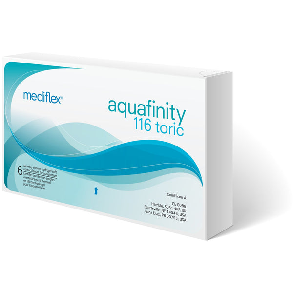 Aquafinity 116 Toric Monthly Contact Lens